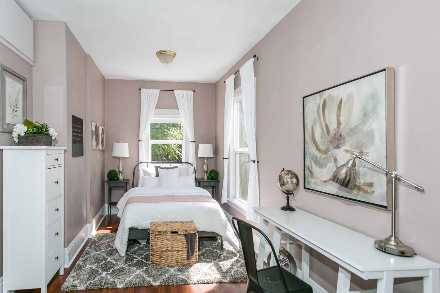 Colorful SE Bungalow Home Staging l Home Stagers l Portland, Lake ...