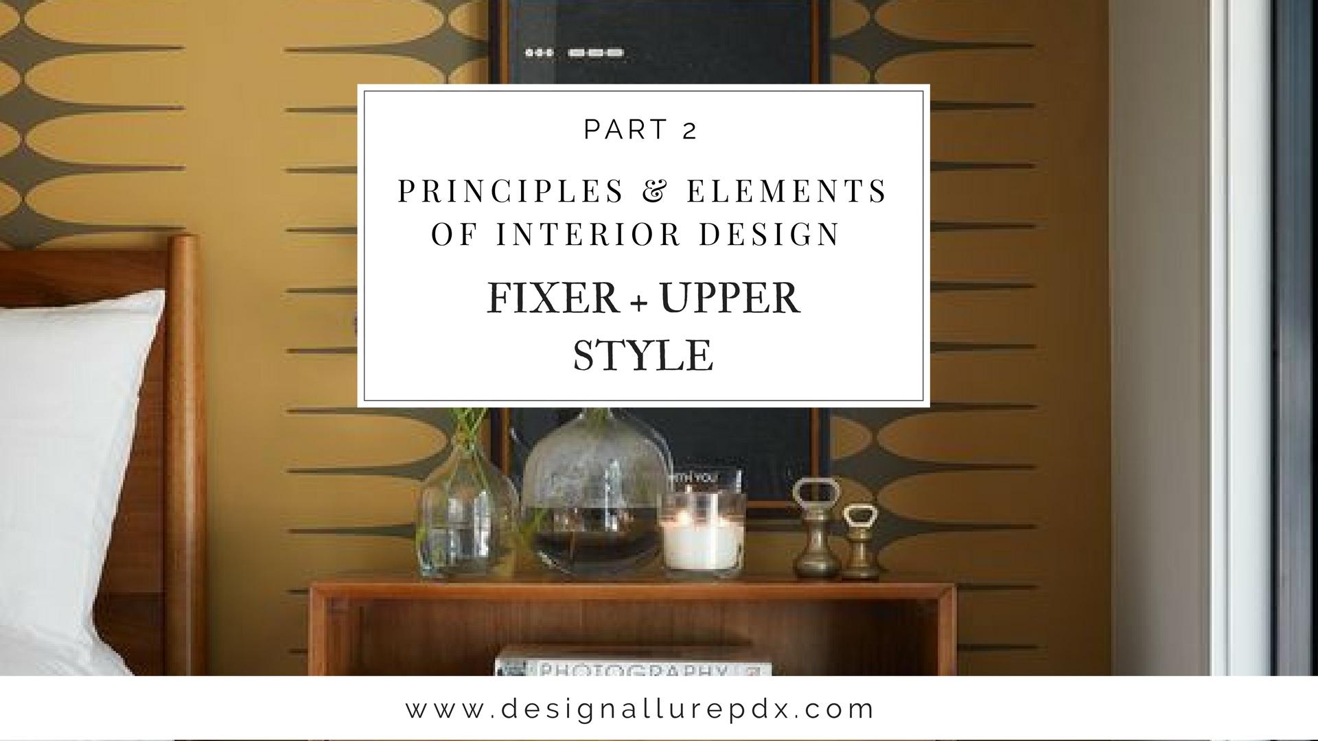 Principles & Elements Of Interior Design Pt 1 l Residential Interior ...